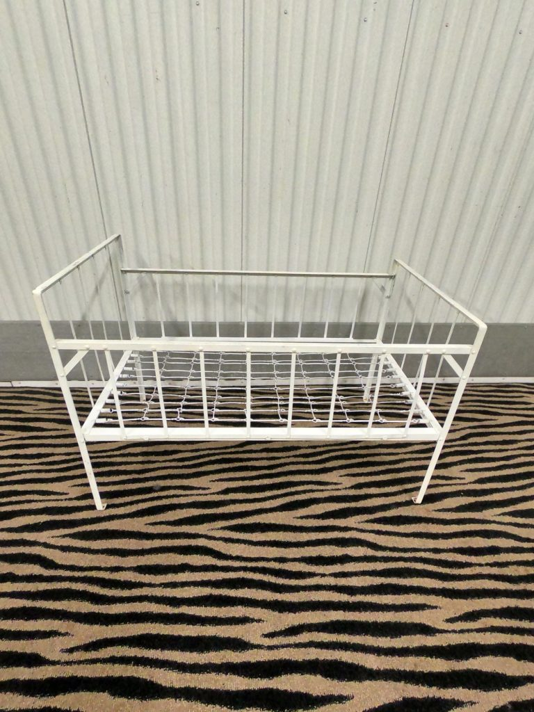 Antique Metal Crib