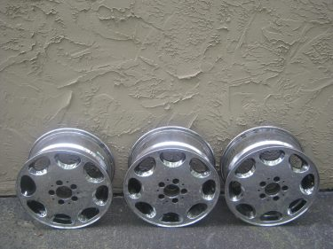 3 Mercedes Benz Factory S Class Alloy Wheels